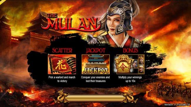รีวิวเกม Mulan