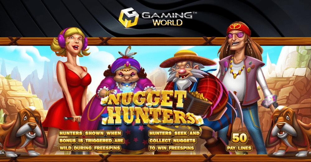 รีวิวเกมสล็อต Nugget Hunters